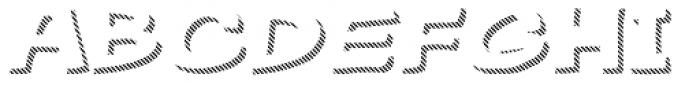 Gibon Bold Shadow Striped 2 Font UPPERCASE
