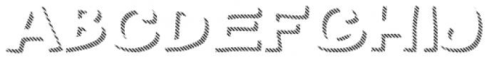 Gibon Bold Shadow Striped 2 Font LOWERCASE