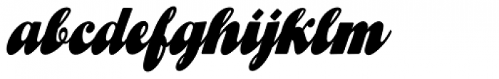 Gibson Girl JF Font LOWERCASE