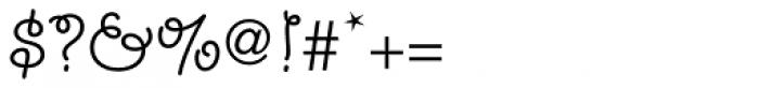 Giddyup Std Regular Font OTHER CHARS