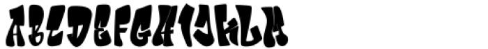 Giecella Kids Regular Font UPPERCASE