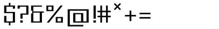 Gigant EF Light Alt Font OTHER CHARS
