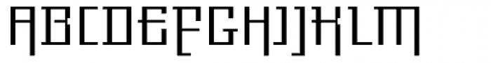 Gigant EF Light Alt Font UPPERCASE