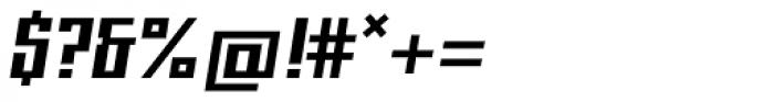Gigant EFCond Black Obl Font OTHER CHARS