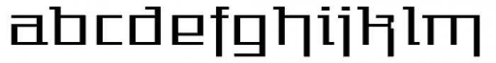 Gigant EFExp Reg Alt Font LOWERCASE