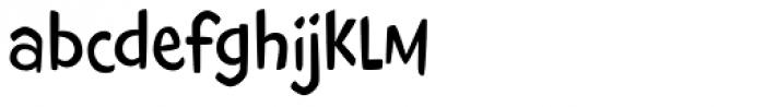 Giggles BTN Light Font LOWERCASE