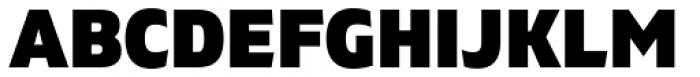 Gilam Black Font UPPERCASE