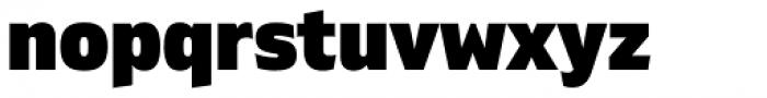 Gilam Black Font LOWERCASE