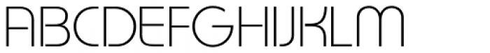 Gilan Light Font UPPERCASE