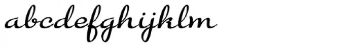 Gilda Italic Font LOWERCASE