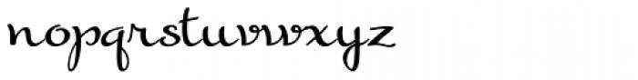 Gilda Font LOWERCASE