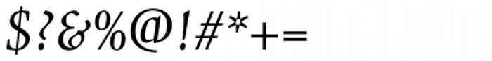 Gilgamesh Pro Book Italic Font OTHER CHARS