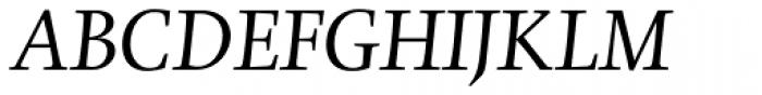 Gilgamesh Std Book Italic Font UPPERCASE