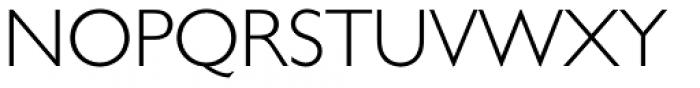 Gill Sans Cyrillic Pro Cyrillic Light Font UPPERCASE