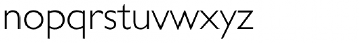 Gill Sans Cyrillic Pro Cyrillic Light Font LOWERCASE