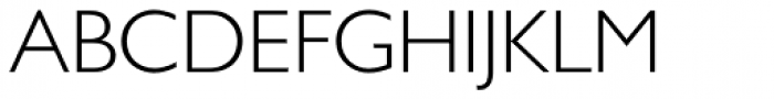 Gill Sans Greek Pro Greek Light Font UPPERCASE