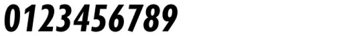Gill Sans Nova Cond Bold Italic Font OTHER CHARS
