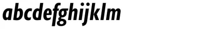 Gill Sans Nova Cond Bold Italic Font LOWERCASE