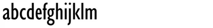 Gill Sans Nova Cond Medium Font LOWERCASE