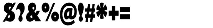 Gill Sans Nova Cond UltraBold Font OTHER CHARS