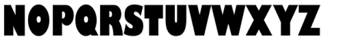 Gill Sans Nova Cond UltraBold Font UPPERCASE