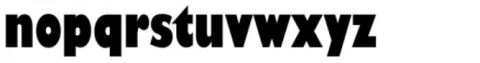 Gill Sans Nova Cond UltraBold Font LOWERCASE