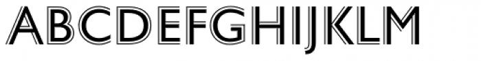 Gill Sans Nova Deco Font UPPERCASE