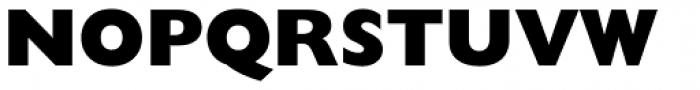 Gill Sans Nova ExtraBold Font UPPERCASE