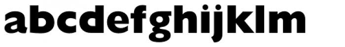 Gill Sans Nova ExtraBold Font LOWERCASE