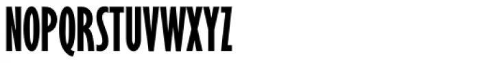 Gill Sans Nova ExtraCond Bold Font UPPERCASE
