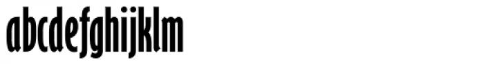 Gill Sans Nova ExtraCond Bold Font LOWERCASE