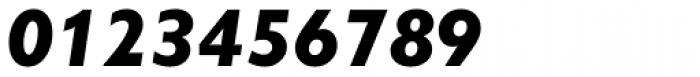 Gill Sans Nova Heavy Italic Font OTHER CHARS