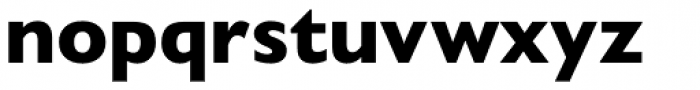 Gill Sans Nova Heavy Font LOWERCASE