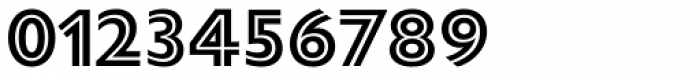Gill Sans Nova Inline Bold Font OTHER CHARS