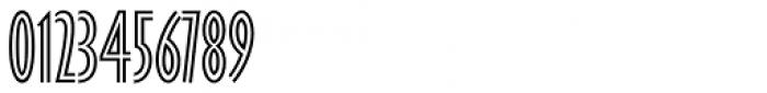 Gill Sans Nova Inline Condensed Font OTHER CHARS