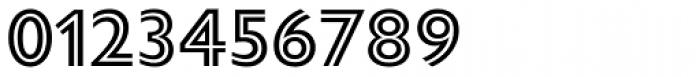 Gill Sans Nova Inline SemiBold Font OTHER CHARS