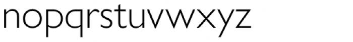 Gill Sans Nova Light Font LOWERCASE