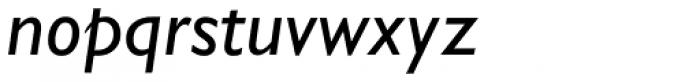 Gill Sans Nova Medium Italic Font LOWERCASE