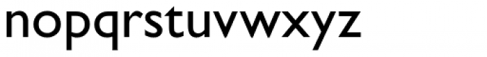 Gill Sans Nova Medium Font LOWERCASE