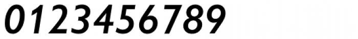 Gill Sans Nova SemiBold Italic Font OTHER CHARS