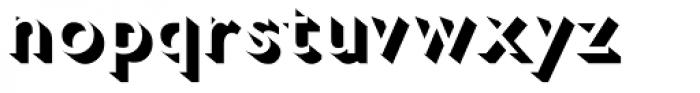 Gill Sans Nova Shadowed Medium Font LOWERCASE
