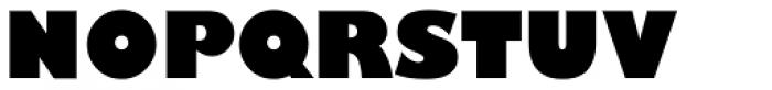 Gill Sans Nova UltraBold Font UPPERCASE