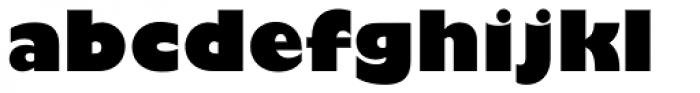 Gill Sans Nova UltraBold Font LOWERCASE