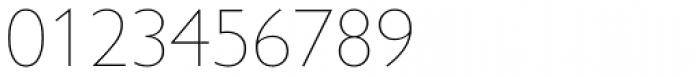 Gill Sans Nova UltraLight Font OTHER CHARS
