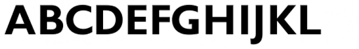 Gill Sans Pro Display Bold Font UPPERCASE
