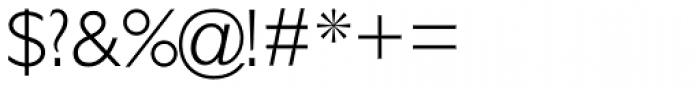 Gill Sans Std Light Font OTHER CHARS