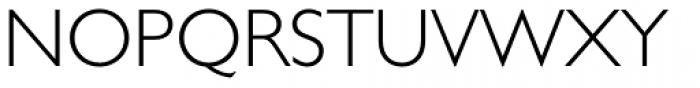 Gill Sans Std Light Font UPPERCASE
