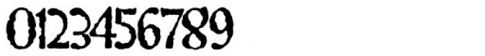 Gillateg Font OTHER CHARS