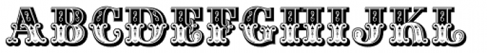 Gille Classic Font LOWERCASE