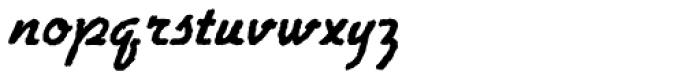 Gillies Antique D Bold Font LOWERCASE